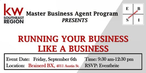 Running Your Business Like a Business with Bob Kilinski