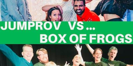 Jumprov Vs Box Of Frogs (Improv Comedy Battle)  tickets