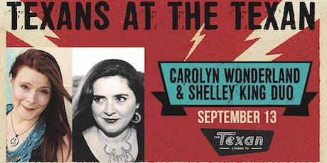 Carolyn Wonderland and Shelley King Duo tickets