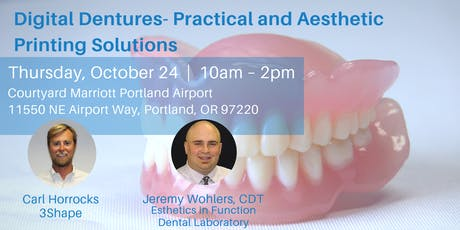 Digital Dentures- Practical and Aesthetic Printing Solutions tickets