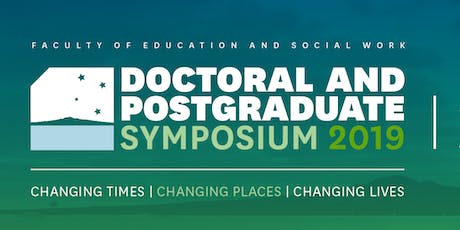 Present at the Doctoral and Postgraduate Sympsoium 2019 tickets