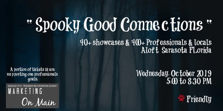 Oct 30th | Spooky good connections | Marketing on Main Halloween Affair tickets