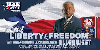 A Night of Liberty and Freedom with Allen West