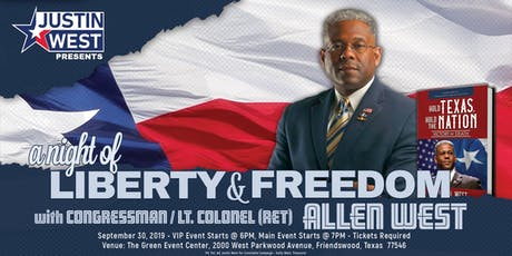A Night of Liberty and Freedom with Allen West tickets