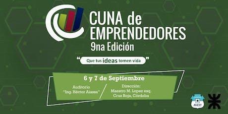 Cuna de Emprendedores 9na Edición entradas