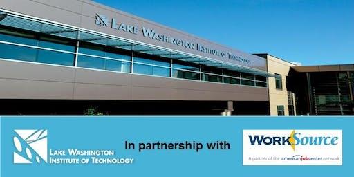 Lake Washington Institute of Technology's 2019 Fall Job Fair