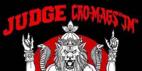 Judge + Cro-Mags tickets