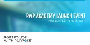 Portfolios with Purpose Academy Launch Event