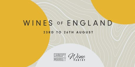 WINES of ENGLAND x CANOPY MARKET, King's Cross, London tickets