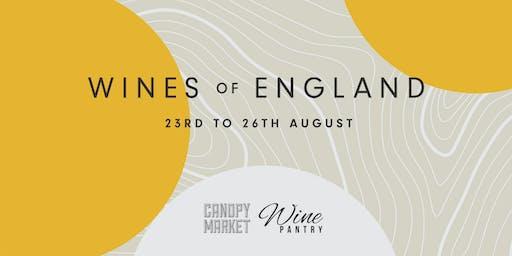 WINES of ENGLAND x CANOPY MARKET, King's Cross, London