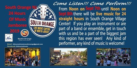 24 Hours Of Music in South Orange New Jersey tickets