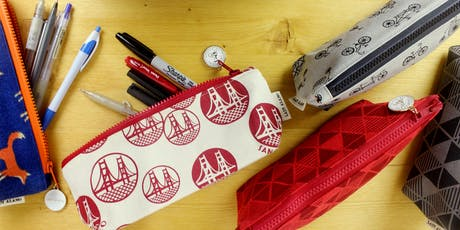 Sewing 101: Back To School Zipper Pencil Case tickets