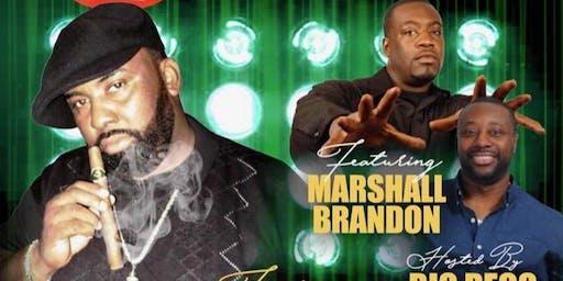 3rd Thursday Comedy, featuring Big Regg,Johnathan Gates, Marshall Brandon