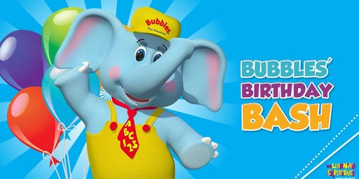 Bubbles' Third Birthday Bash