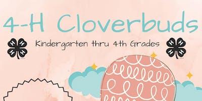 4-H Cloverbuds Club Registration (Grades K-4 / $20)