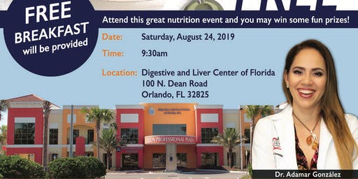 Free August Nutrition Class