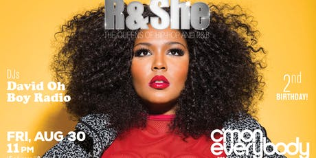 R & SHE: The Queens of Hip-Hop & RnB tickets