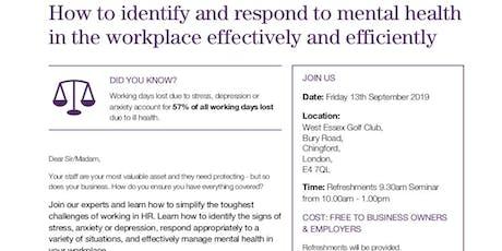 HR, Employment Law & Health and Safety Seminar tickets