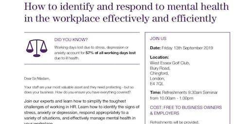 HR, Employment Law & Health and Safety Seminar