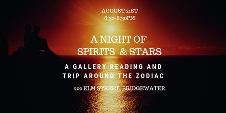 A Night of Spirits and Stars with Tiffany Rice & Robin Curtin  tickets