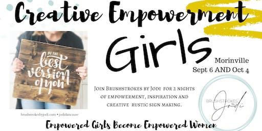 GIRLS NIGHT - Creative Empowement Series (Morinville)