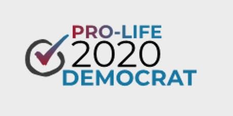 Pro-Life Dem 2020 tickets