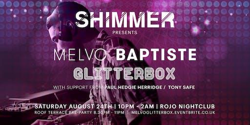 Shimmer presents Glitterbox's Melvo Baptiste