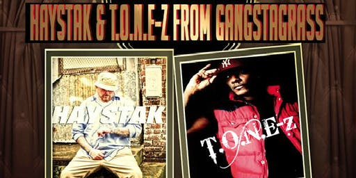 Haystak and T.O.N.E-Z from Gangstagrass at Tackle Box