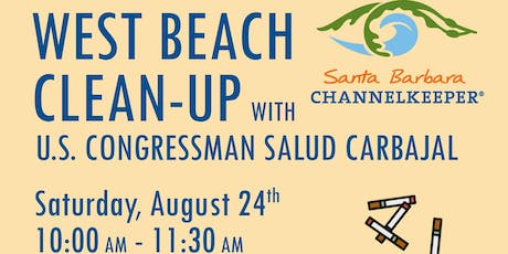 Beach Cleanup with Channelkeeper & Representative Carbajal tickets