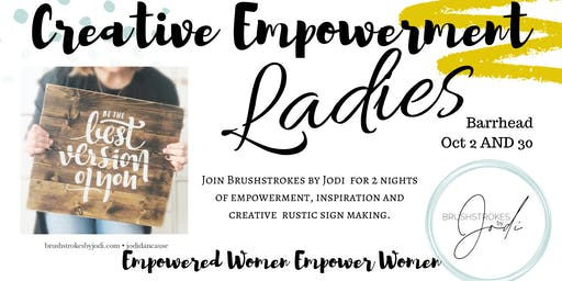 LADIES NIGHT - Creative Empowerment Series (Barrhead)