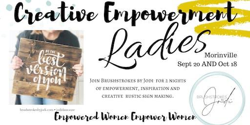 LADIES NIGHT - Creative Empowerment Series (Morinville)