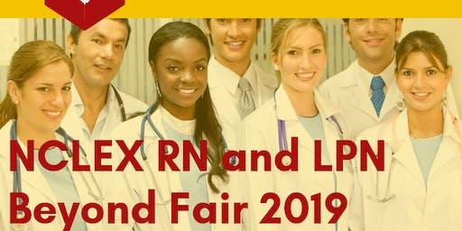 NCLEX RN and LPN Beyond Fair 2019