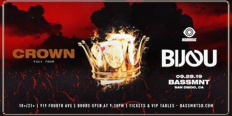 BIJOU at Bassmnt Saturday 9/28 tickets