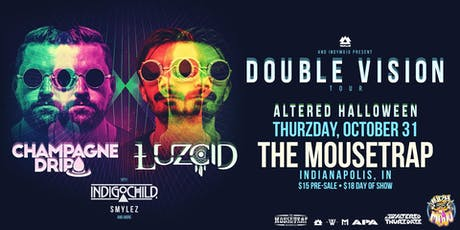 Altered Thurzdaze: Altered Halloween w/ Champagne Drip & Luzcid tickets