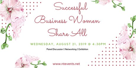 Successful Business Women Panel Discussion & Exhibition tickets