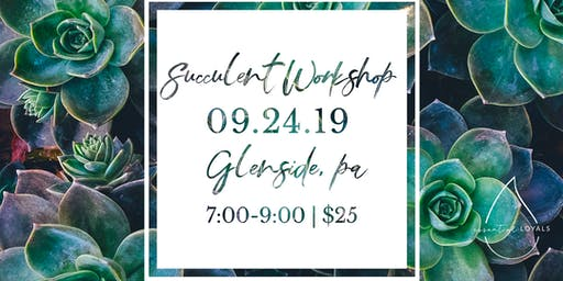 DIY Succulent Workshop