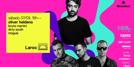 Oliver Heldens, Bruno Martini, Dirty South e Moguai