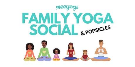 Family Yoga Social tickets