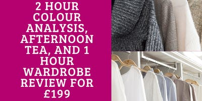 Colour Analysis with Wardrobe Review and Afternoon