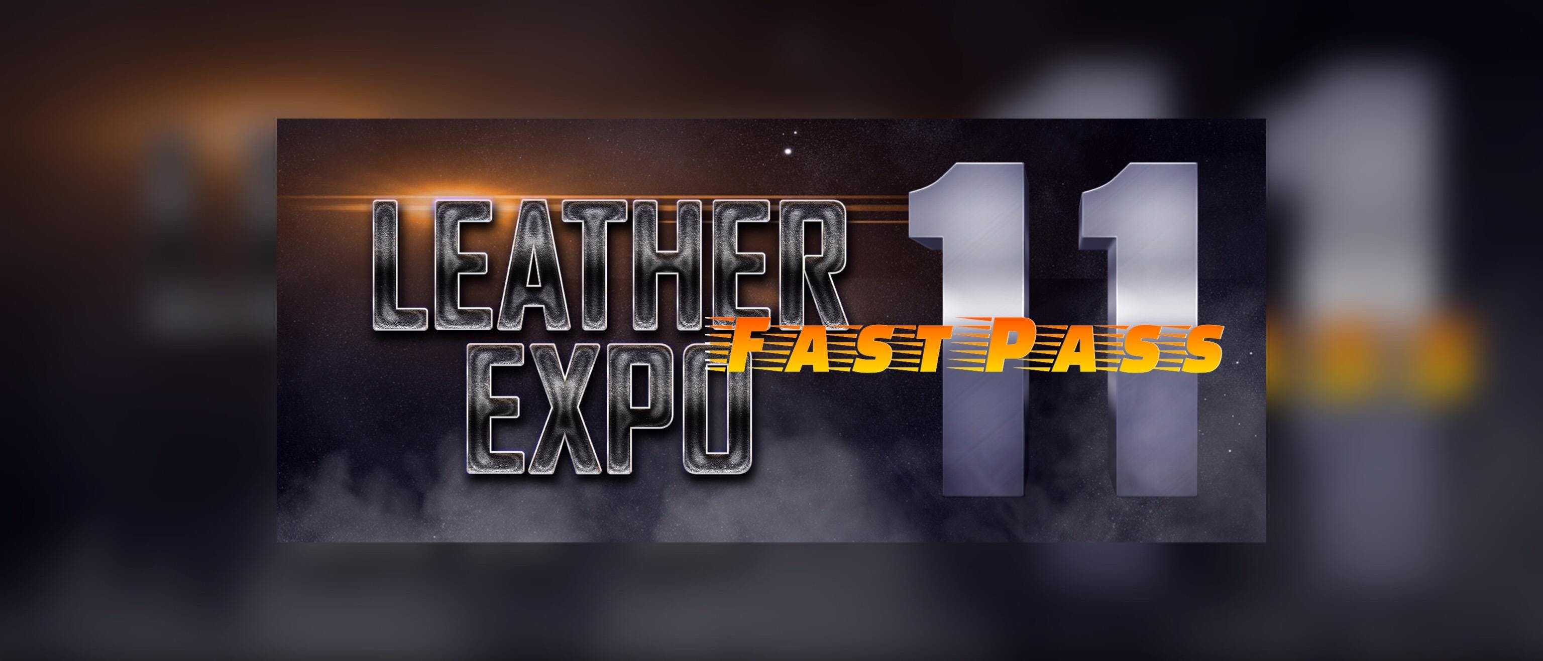Leather Expo XI Fast Pass banner