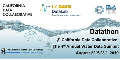 Datathon @ California Data Collaborative: The 4th Annual Water Data Summit