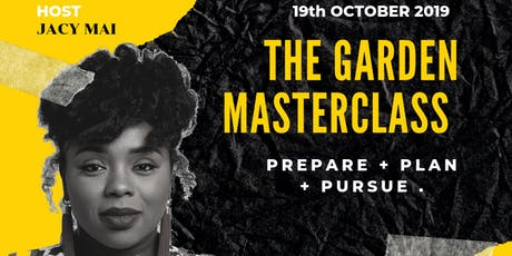 The  Garden Masterclass tickets