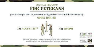 SBDC Veteran Startup Incubator: Opening Reception