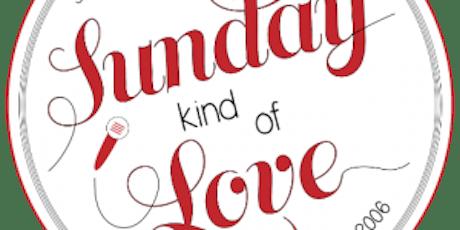 Sunday Kind of Love   14th & V   August 18, 2019   Hosted by Rasha Abdulhadi & Lauren May feat Alexa Patrick & Gabriel Ramirez tickets