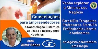 Constelações para Empreendedores com Almir Nahas em SC