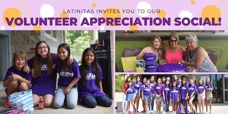 Volunteer Appreciation Social! tickets