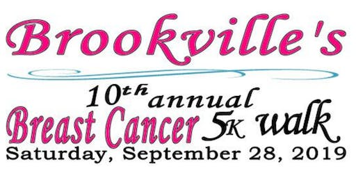 10th Annual Brookville 5k Breast Cancer Walk in Support of Pink Ribbon Girls
