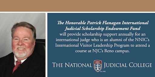 Hon. Patrick Flanagan International Judicial Scholarship Fund Reception