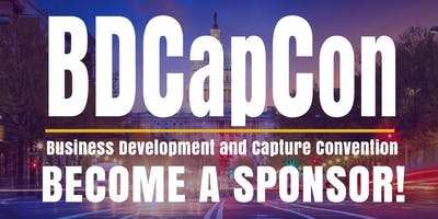 Business Development and Capture Conference / BDCapCon19 /-SPONSOR