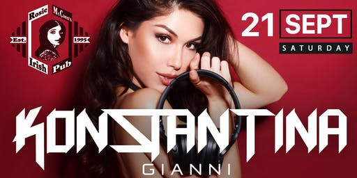 Sold Out Saturdays with DJ Konstantina Gianni